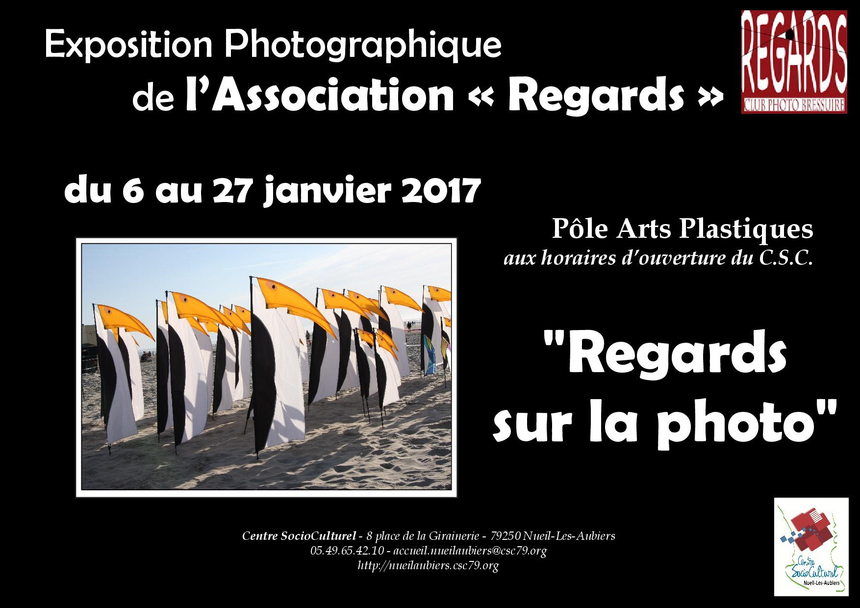 Affiche expo Regards