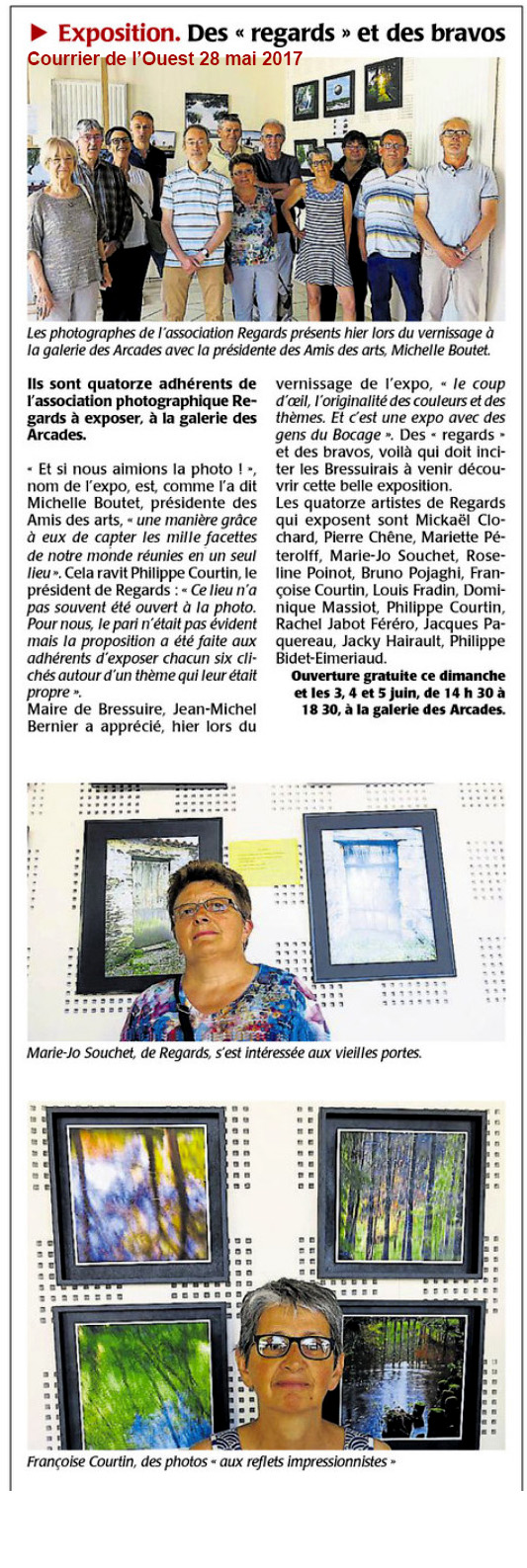 Courrier ouest 28052017 vernissage 0dfdf